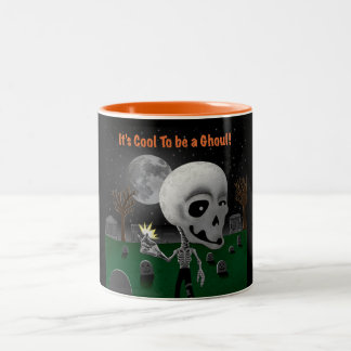Halloween Ghoul Two-Tone Mug