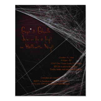 Halloween Ghouls 11 Cm X 14 Cm Invitation Card