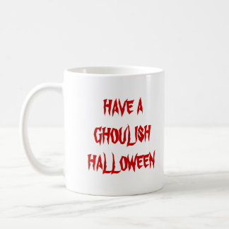 Halloween Ghouls Basic White Mug