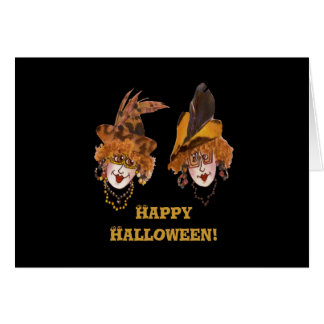 Halloween Ghouls Card
