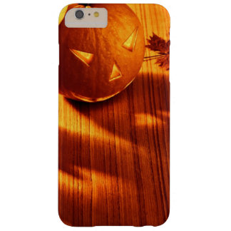 Halloween glowing pumpkins border barely there iPhone 6 plus case