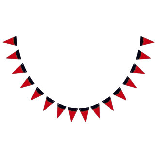 Halloween Gothic Carnival Black Cats Bunting
