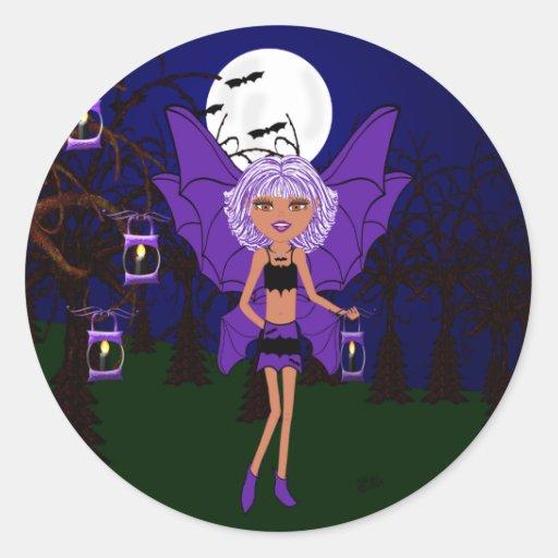 Halloween Gothic Faery Eve Hallow Sticker