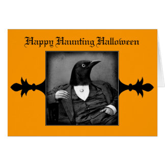Halloween Gothic Victorian card or invitation