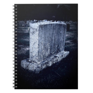 Halloween Grave Notebook (80 Pages B&W)
