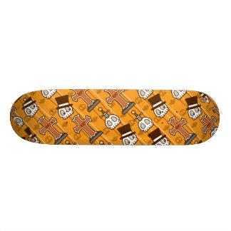 Halloween Graves & Skulls 20.6 Cm Skateboard Deck