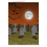 Halloween: Graveyard Scene: