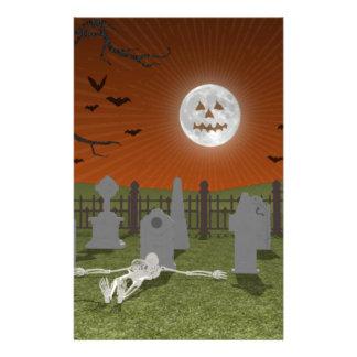 Halloween: Graveyard Scene: Stationery