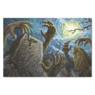 Halloween Graveyard Tissue Paper
