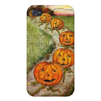 Halloween Greeting To Thee iPhone 4 Covers
