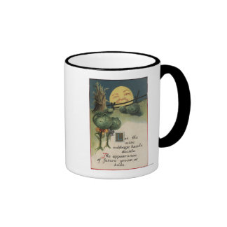 Halloween GreetingCabbage Anthropomorphism Coffee Mug