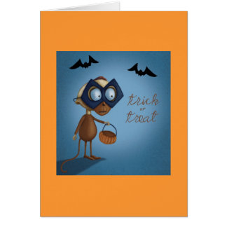 Halloween Greetings Card