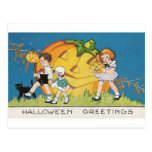 Halloween Greetings Post Cards