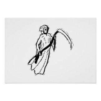 Halloween Grim Reaper Posters