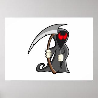 Halloween Grim Reaper Poster