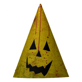 Halloween Grungy Blood Ghost Crazy Party Hat