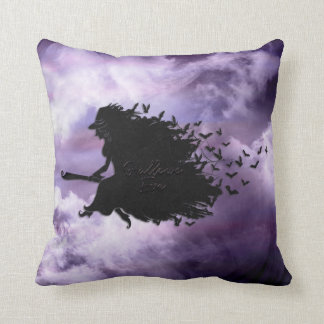 Halloween - Hallows Eve Witch All Options Cushion