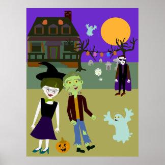 Halloween Hangout Poster
