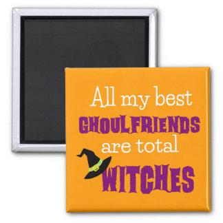 Halloween Happy Ghoulfriends Magnet