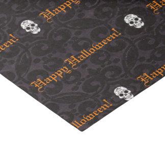 Halloween Happy Skulls Tissue Paper