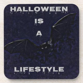 Halloween Hard Plastic Coasters