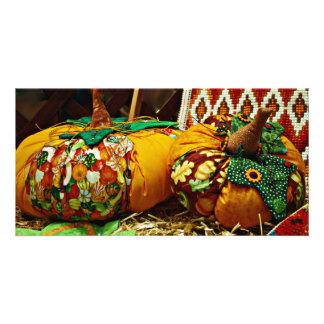 Halloween Harvest from Andorra Photocard Photo Card Template