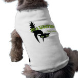 Halloween Haunted By Cats Doggie Tee Shirt