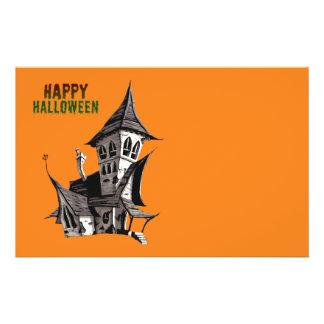 Halloween Haunted House 14 Cm X 21.5 Cm Flyer