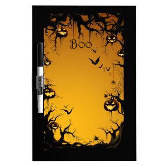Halloween Haunted Woods Whiteboard
