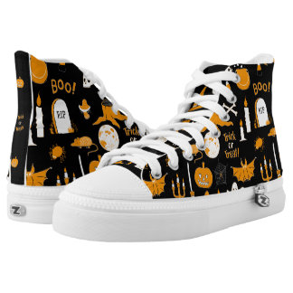 Halloween High Top Shoes