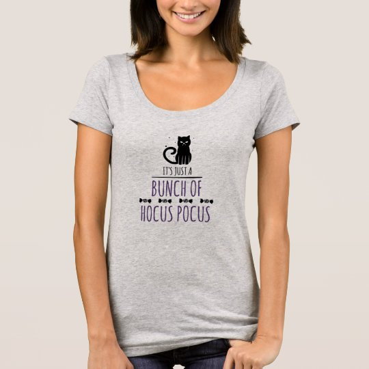 Halloween Hocus Pocus Scoop Neck T-Shirt