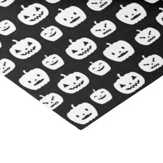 Halloween Holiday pumpkin tiled party tissue Tissue Paper