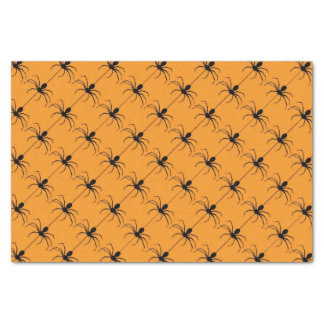 Halloween Holiday spider pattern tissue paper