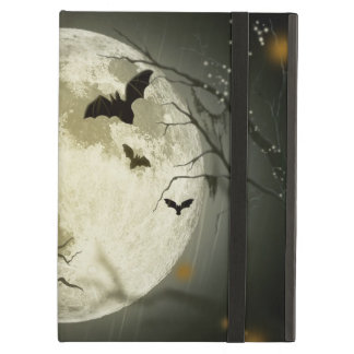 Halloween holidays mystery with fairy tale moon iPad air case