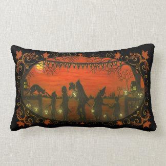 Halloween home decor pillow, cat,dog,J-O-L's Cushion