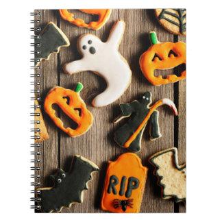 Halloween Homemade Gingerbread Cookies Notebook