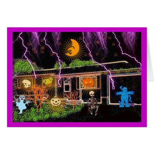 HALLOWEEN HOUSE 2 CARD