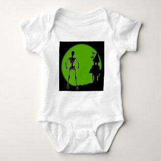 Halloween House Baby Bodysuit