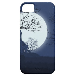 Halloween House Background iPhone 5 Cases
