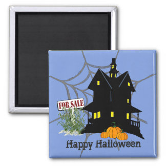 Halloween House For Sale Magnet