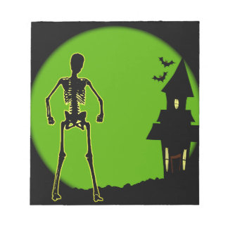 Halloween House Notepad