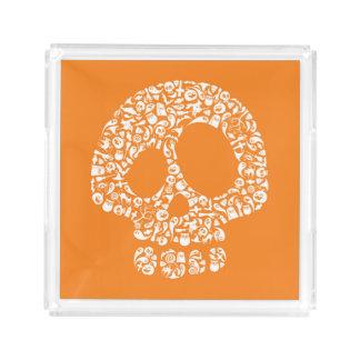 Halloween Icons - Skull Acrylic Tray