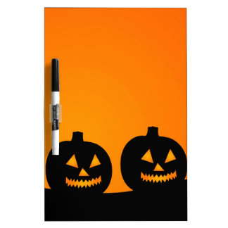 Halloween Illustration Dry-Erase Whiteboards
