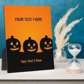 Halloween Illustration Plaque