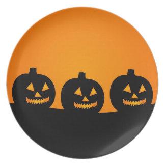 Halloween Illustration Plate