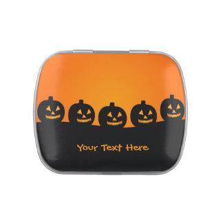 Halloween Illustration tins & jars Jelly Belly Tins