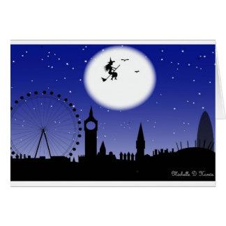 Halloween in London Greeting Card