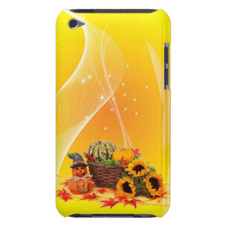 halloween in yellow iPod touch cases