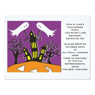 "Halloween Invitation 6.5"" X 8.75"" Invitation Card"
