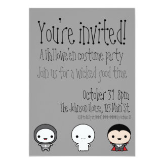 Hallowe'en Invitation
